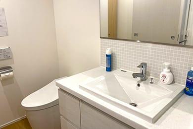 写真:お手洗い